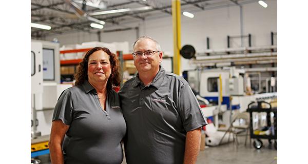 Owners Lisa and Brian Hefner